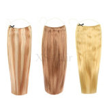 "Halo Human Hair Extensions 12のフリップ"" 14 "" 16 "" 18 "" 20 "" 22 "" 24 "" 26 """