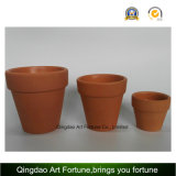 Outdoor-Natural Clay Ceramic Candle Holder - Pequeno