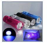 Weißes oder schwarzes Licht oder UVfackel des lED-Aluminium-9 LED für Supermarkt Wal-Mart, Ziel, Aldi