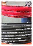 """Boyau de mélangeur de SAE100 R2at 3/8 """" avec la couleur rouge"""