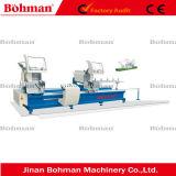 Profils industriels en extrusion d'aluminium Machine à découpage à deux têtes