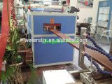 Linha de produção plástica de madeira automática cheia do perfil de PVC/PP/PE
