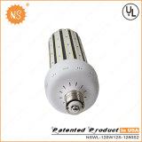 luz de calle Halide del maíz 16000lm 120W del metal de la UL Dlc LED de 120W 110V LED
