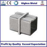 Menuisier carré de tube pour la balustrade et la balustrade d'acier inoxydable