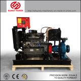 Dieselpumpe des wasser-75kw für städtisches Projekt/Bewässerung mit Schlussteil