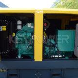 225kVA無声タイプ力エンジンのディーゼル発電機セット