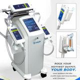 Helada Cryotherapy gordo de 3 Handpiece que adelgaza la máquina que forma fresca principal Machine/3 para el uso del salón y del hogar