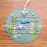 Impressão que pendura o Tag decorativo/ofício de papel impresso Handmade da flor DIY