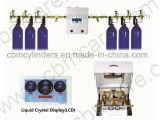 Equipos automáticos centrales del suministro de gas del hospital