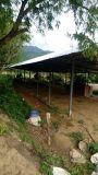 Folha longa do telhado de extensão da resistência de corrosão UPVC