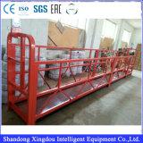 Gegalvaniseerd Opgeschort Platform/de Hoge Schoonmakende Apparatuur van de Bouw Zlp630/Opgeschorte Steiger