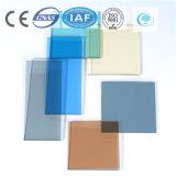 Color azul de Ford del océano/del lago/vidrio de flotador teñido/claro para el edificio/la decoración