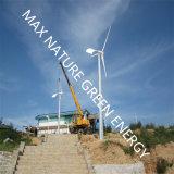再生可能エネルギーとして太陽電池パネルとともに小さい風力