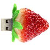 Disques flash USB en forme de fraise, forme personnalisée USB