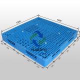Plastikladeplatte mit der zweiseitigen, geöffneten Plattform, stapelbar