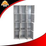 12 Tür-Stahlspeicher-Badezimmer-Schrank-Wandschrank-Kleidungs-Schließfach