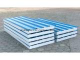 Los paneles de emparedado de la pared y de la azotea EPS para el edificio prefabricado de la estructura de acero (DG9-018)