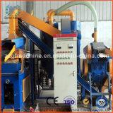 Alambre inútil del cable que recicla la máquina
