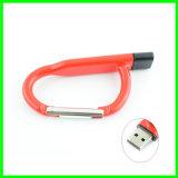 Movimentação de escalada do flash do USB do metal do USB Pendrive do gancho