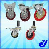 Jy -304   PU prestaciones medias Caster para Trolley