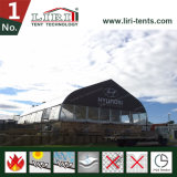 20mの屋外レストランのための明確なスパンのTFSによって曲げられるテント