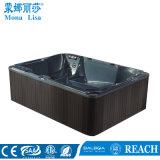 Baquet chaud de STATION THERMALE hydraulique de capacité de 6 personnes avec 2 salons (M-3365)