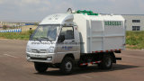 No. 1 camion dell'elevatore idraulico dei tester più poco costosi/il più basso 5 cubici piccolo/mini di immondizia del collettore
