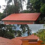 Легко установите пластичную плитку крыши для здания