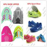 Kpu folâtre la machine de moulage supérieure de chaussures de course