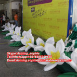 Corrente de flor 10m branca inflável para a decoração do casamento
