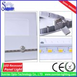 Ce/RoHS quadratische vertiefte 9W LED Panel-Deckenleuchte