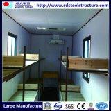 casa del envase de los 40FT para el campo de trabajos forzados con la cocina y el tocador