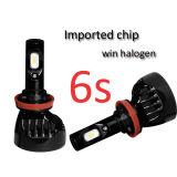 Bulbo auto de la linterna de la linterna 60W 6000lm H4 H7 LED del coche LED de la linterna 12V 24V de la motocicleta del poder más elevado LED para el automóvil
