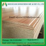Pelle di legno del portello del laminato HDF dell'impiallacciatura