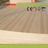 Rote Eiche/Teakholz-/Aschen-/Ahornholz-natürliches furniertes fantastisches Furnierholz