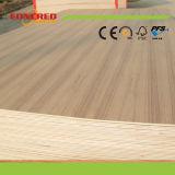 Red Oak / teca / Ash / arce natural de chapa de madera contrachapada Fancy