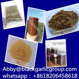 Nenhuma potência preta aditiva do alho fermentou