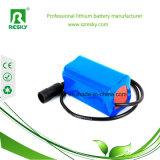 18650 2s1p 7.4V 2200mAh Li-Ionbatterie-Satz für Taschenlampe