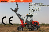 2cbm Shovel를 가진 세륨 1.5 Ton Front End Wheel Loader