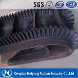 Nastro trasportatore di gomma di industria estrattiva di Nn