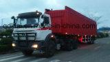 Tractor en Aanhangwagens van de Vrachtwagen van het Merk van Beiben de de Op zwaar werk berekende voor Verkoop in Mali en de Kongo