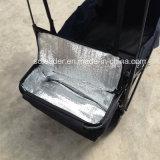 يطوي عربة مع ظلة & يبرّد حقيبة - حقيبة أسود