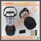 Lumière solaire de 36 DEL pour camper avec la dynamo mettant en marche la sortie d'USB (SH-1990A)