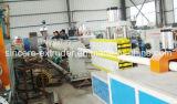 Linha expulsando interna maquinaria da tubulação de dreno do PVC da produtividade elevada do plástico da maquinaria da fabricação da extrusora