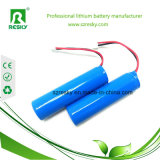 18650 3.7V 2600mAh Li-Ionbatterie mit PCM
