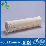 Sacchetto filtro non tessuto di Aramid per il collettore di polveri della pianta dell'asfalto
