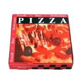 Chiusura d'angolo del contenitore di pizza del cartone per scatole per la durezza (PIZZ-008)