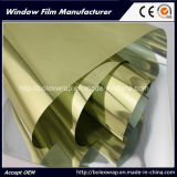 Gold Silver Reflective Film One Way Mirror Solar Control Building Window Film