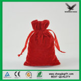 Fuente hecha hombre de empaquetado de la fábrica de Shangai del bolso del ante de la joya de encargo