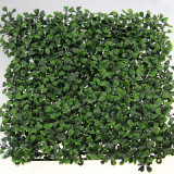 Cerca artificial del seto de la pared de la decoración artificial verde del jardín